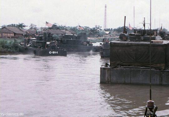 USA Vietnam-Krieg / Vietnam War - CCB Command and Control Boat