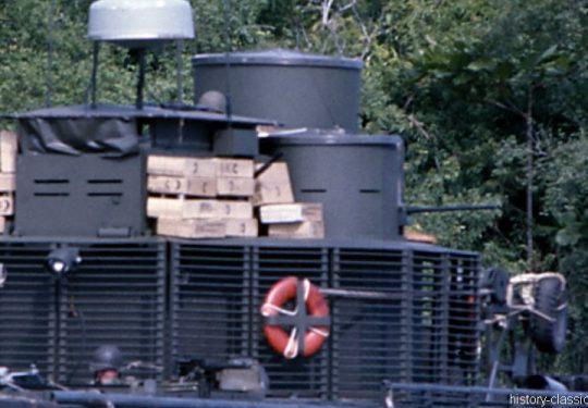 USA Vietnam-Krieg / Vietnam War - River Monitor Boat