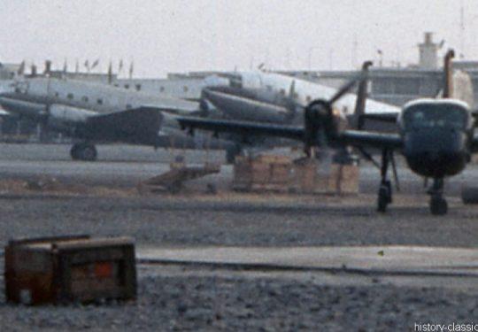 USAF United States Air Force Curtiss C-46 Commando - Vietnam-Krieg / Vietnam War