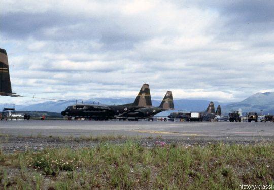 USAF United States Air Force Lockheed C-130A Hercules - Vietnam-Krieg / Vietnam War