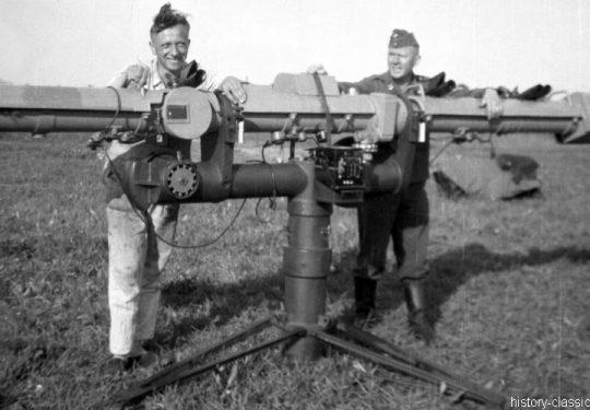 Wehrmacht Luftwaffe Entfernungsmesser Em 4m R(H) 36