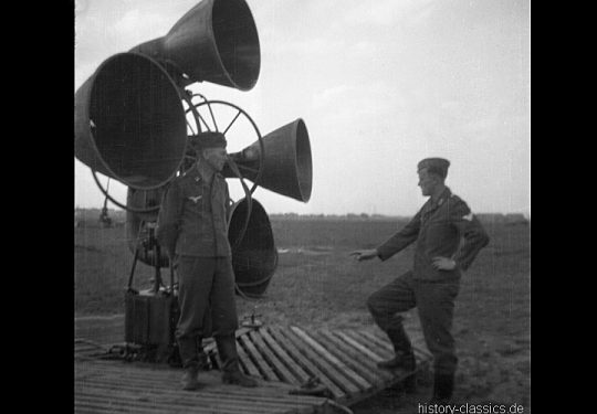 Wehrmacht Luftwaffe FLAK-Horchgerät