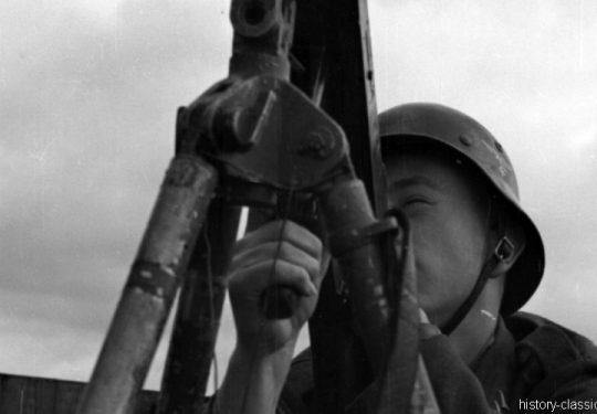 Wehrmacht Luftwaffe Maschinengewehr MG 08
