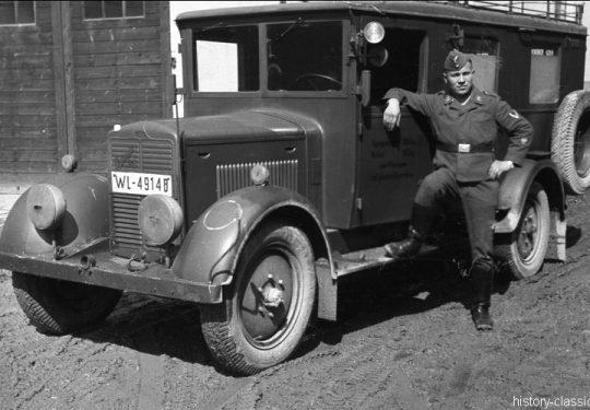 Wehrmacht Luftwaffe Geländewagen Phänomen Granit 25