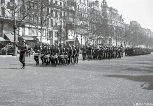 2. Weltkrieg Wehrmacht Europa – Einmarsch und Besetzung Frankreich - Avenue des Champs-Élysées