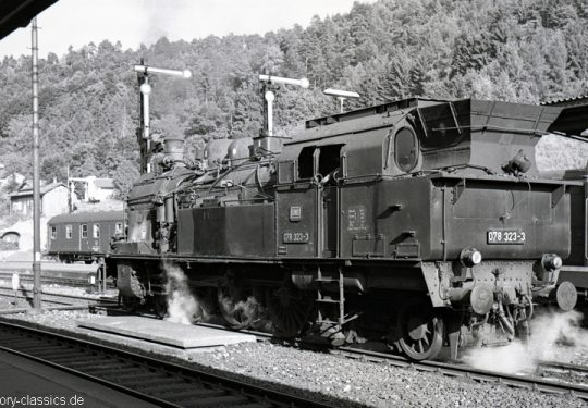 Deutsche Bundesbahn Dampflokomotive Baureihe BR 078