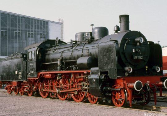 Deutsche Reichsbahn Dampflokomotive Baureihe BR 38