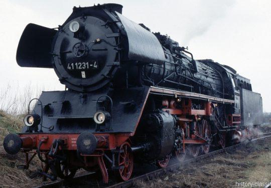 Deutsche Reichsbahn Dampflokomotive Baureihe BR 41