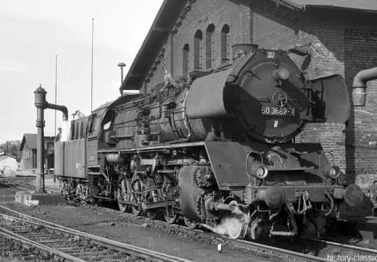 Deutsche Reichsbahn Dampflokomotive Baureihe BR 50