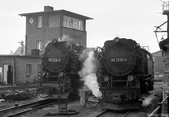Deutsche Reichsbahn Dampflokomotive Baureihe BR 99