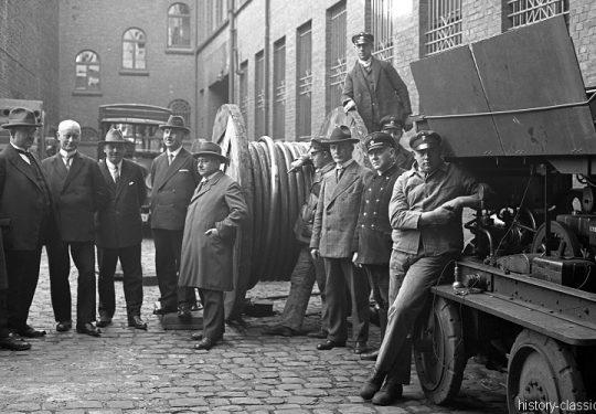 Momentaufnahmen Deutschlan 1930 / Snapshots Germany 1930s - Dortmund Telegrafenamt