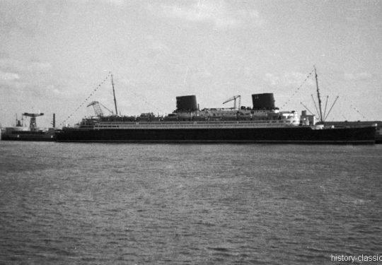 Drittes Reich Passagierschiff / Schnelldampfer Europa