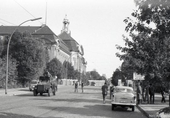 Grenzübergang Berlin Invalidenstraße