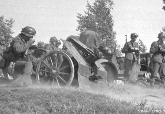 Wehrmacht Heer Leichtes Infanteriegeschütz 18 7,5 cm