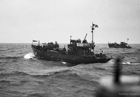 Wehrmacht Kriegsmarine Kriegsfischkutter KFK 38