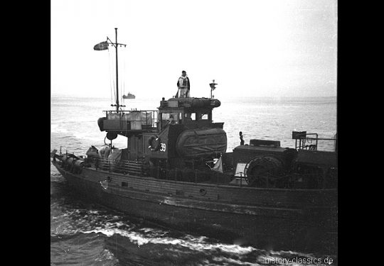 Wehrmacht Kriegsmarine Kriegsfischkutter KFK 39