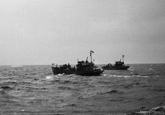 Wehrmacht Kriegsmarine Kriegsfischkutter KFK 43