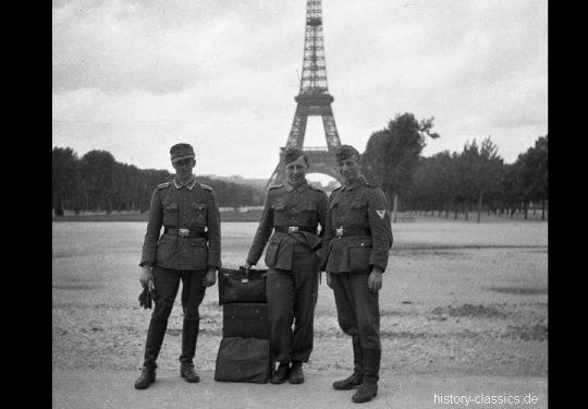 2. Weltkrieg Wehrmacht Europa – Einmarsch und Besetzung Frankreich - Paris Eiffelturm