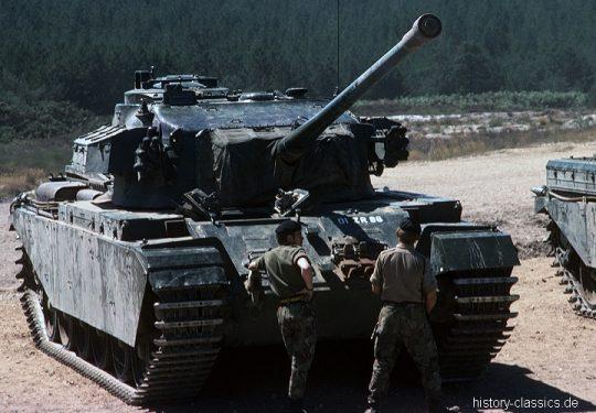 BRITISH ARMY Kampfpanzer Centurion / Main Battle Tank Centurion