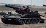 BRITISH ARMY Self Propelled Gun SPG M110 203 mm / 8 Inch