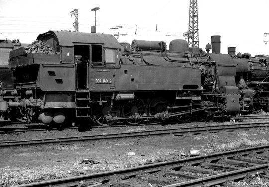 Deutsche Bundesbahn Dampflokomotive Baureihe BR 094