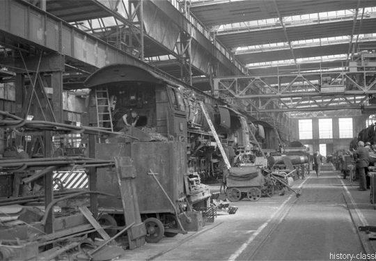 Deutsche Bundesbahn Lokschuppen