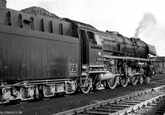 Deutsche Bundesbahn Dampflokomotive Baureihe BR 011