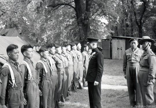 Uniformen Großbritannien / Uniforms Great Britain - Brigade of Gurkhas (British Army) 1950`s