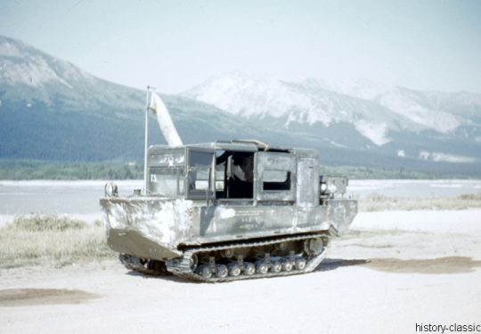 US ARMY / United States Army Vollkettentransportfahrzeug  / Tracked Vehicle M29C Weasel