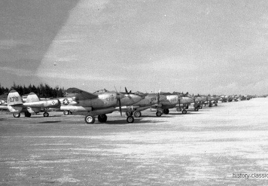 USAF United States Air Force Lockheed P-38 Lightning