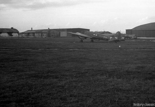 Wehrmacht Luftwaffe Heinkel He 111 H-6 - Nach Kriegsende