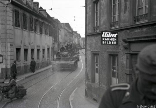 2. Weltkrieg Wehrmacht Europa – Vorbereitung zum Einmarsch und Besetzung Frankreich - Panzerkampfwagen IV PzKpfw IV Panzer IV Ausf. D