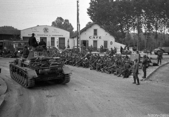 2. Weltkrieg Wehrmacht Europa – Einmarsch und Besetzung Frankreich - Panzerkampfwagen IV PzKpfw IV Panzer IV Ausf. D