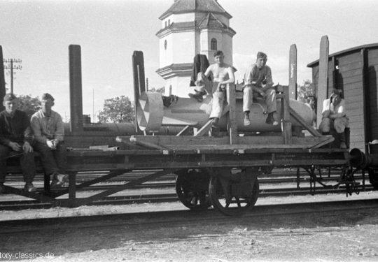 Wehrmacht Luftwaffe Fliegerbombe / Sprengbombe SD 1.700 kg