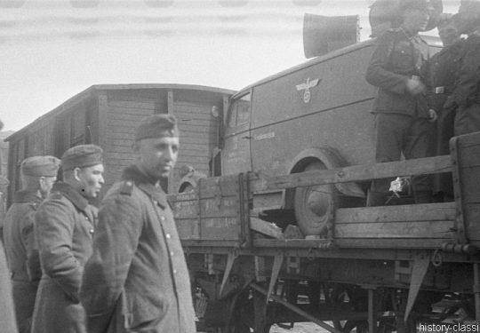 Deutsche Reichsbahn / Wehrmacht - Militärtransporte