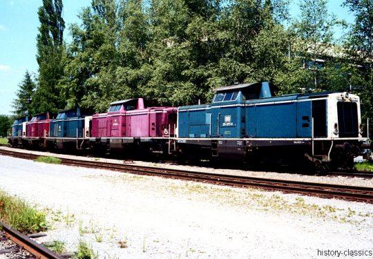 Modellbauvorlagen / Model Building Templates – Diesellokomotiven / Diesel Locomotives - Deutsche Bundesbahn / Deutsche Bahn Baureihe BR 211