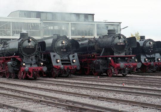 Deutsche Bundesbahn Dampflokomotive Baureihe BR 012