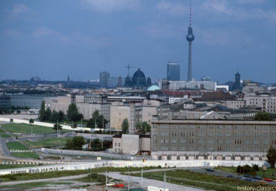Maueransichten Berlin Potsdamer Platz