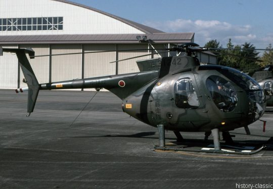 Japanisches Heer JGSDF Kawasaki OH-6D