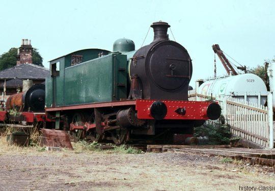 Modellbauvorlagen / Model building templates – Dampflokomotiven / Steam Locomotives - Kerr Stuart Victory Locomotive 0-6-0T