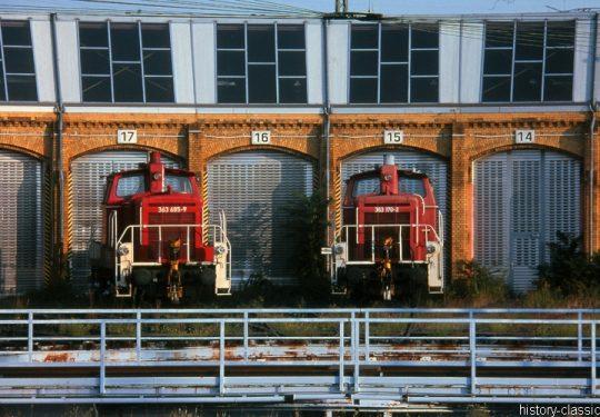 Modellbauvorlagen / Model Building Templates – Diesellokomotiven / Diesel Locomotives - Deutsche Bahn Baureihe BR 363