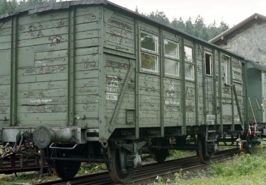 Modellbauvorlagen / Model Building templates - Güterwagen - Güterwaggon / Freight Car - Deutsche Bundesbahn