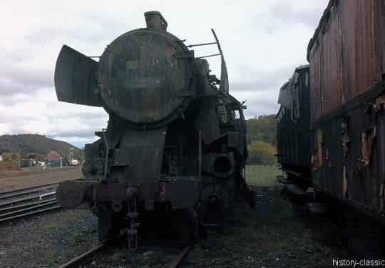 Modellbauvorlagen / Model building templates – Dampflokomotiven / Steam Locomotives - Deutsche Reichsbahn Dampflokomotive Baureihe BR 52