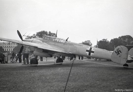 Wehrmacht Luftwaffe Messerschmitt Bf 110 G4 Nachtjäger