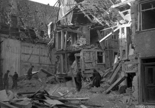 2. Weltkrieg Europa – Bobemangriff auf Deutsche Städte - Unbekannte Stadt