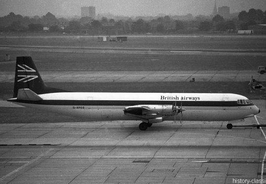 British Airways BA Vickers/BAC Vanguard-953C