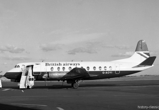 British Airways BA Vickers/BAC Viscount-806