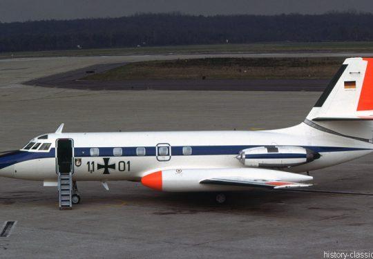 Bundeswehr Luftwaffe Lockheed L-1329 JetStar / Lockheed C-140 JetStar