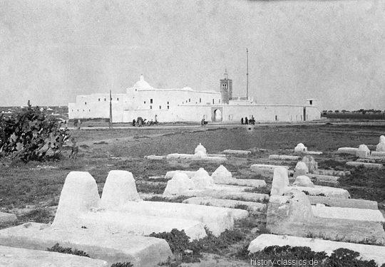 Momentaufnahmen Tunesien 1920 / Snapshots Tunesia 1920s - Große Moschee von Kairouan / The Great Mosque of Kairouan