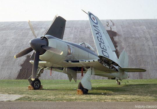 ROYAL NAVY Hawker Sea Fury FB11